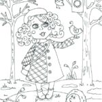 Free Printable Spring Coloring Sheets For Adults