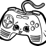 Xbox 360 Controller Coloring Pages