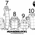 Numberblocks Coloring Pages 1