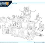 Coloring Pages Nexo Knights