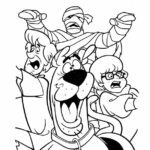 Free Printable Scooby Doo Halloween Coloring Pages