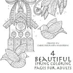 Coloring Pages Spring Adults