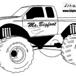 Coloring Pages Trucks And Cars