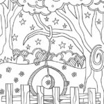 Summer Full Size Printable Coloring Pages