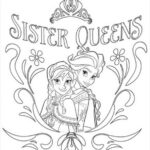 Disney Coloring Pages Printable Frozen