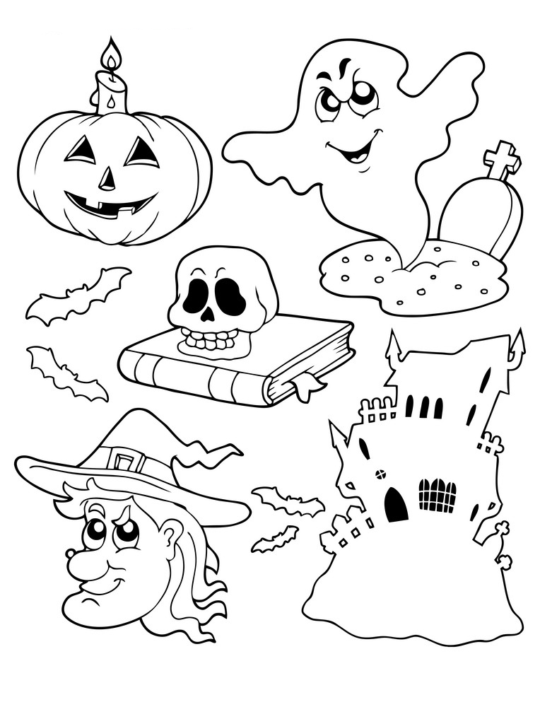 Free & Printable Halloween Coloring Pages (Updated 2021)