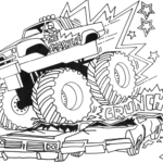 Coloring Pages Trucks Printable