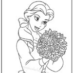 Barbie Birthday Coloring Pages Printable