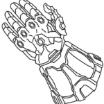 Avengers Infinity War Colouring Pages Printable