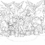 Pokemon Xyz Coloring Pages