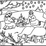 Scripture Coloring Pages For Preschoolers