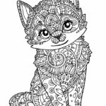 Hard Coloring Pages Animals