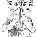 Colouring Pages Frozen Printable