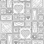 Free Quilt Coloring Pages For Adults