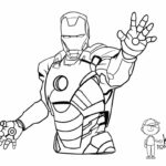 Iron Man Online Coloring Book