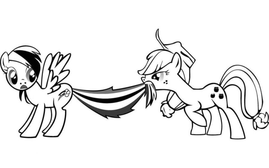 Rainbow Dash And Fluttershy Coloring Pages - Coloring Home
