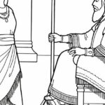 Queen Esther Coloring Pages Printable