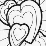 Coloring Pages Hearts Printable