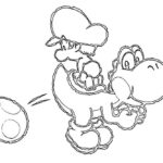 Yoshi Island Coloring Pages