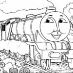 Thomas The Train Coloring Pages Hiro