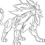 Coloring Pages Pokemon Legendary