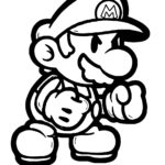 Mario Game Coloring Pages