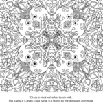 Coloring Book Disney Trippy Coloring Pages