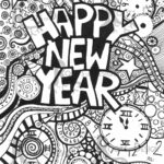 Free Printable Chinese New Year 2021 Colouring Sheets