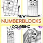 Numberblocks Coloring Pages 100