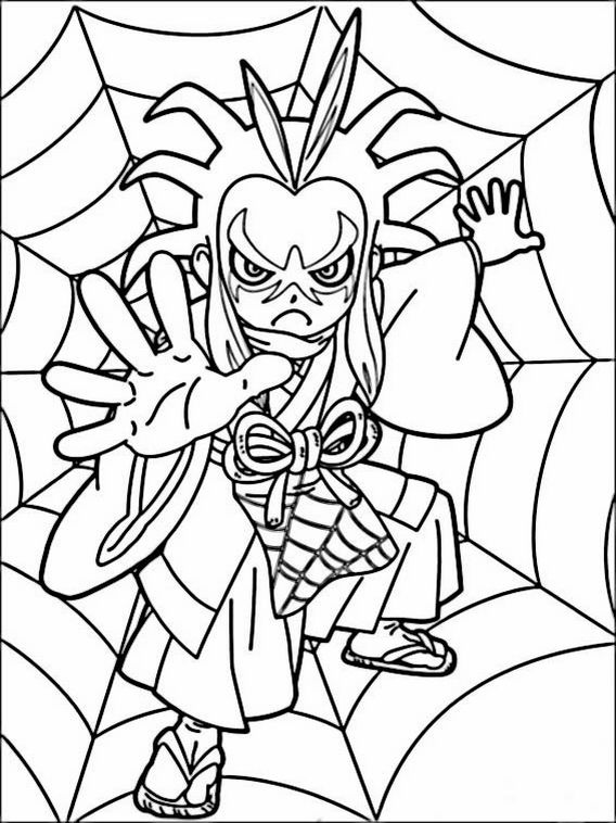Yo-kai Watch Coloring Pages 8 | Coloring pages, Coloring ...