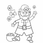 St Patrick's Day Coloring Pages For Adults Pdf