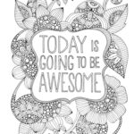 Printable Coloring Pages For Adults Summer