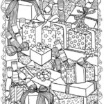 Images Of Christmas Coloring Pages