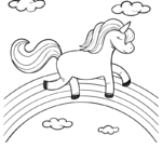 Coloring Pages Printables Rainbows