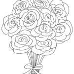 Coloring Roses Pages
