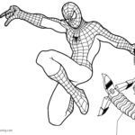 Spider Man Homecoming Coloring Pages Printable