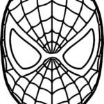 Spiderman Coloring Face Mask
