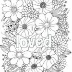 Free Printable Scripture Coloring Pages For Adults
