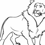 Lion Coloring Pages For Adults Already Colored