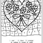 Coloring Pages Color By Number Pictures