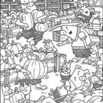 Hidden Pictures Coloring Pages Highlights
