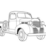 Ford Truck Coloring Pages Printable