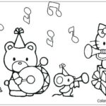 Coloring Pages For Hello Kitty And Her Friends