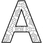 Abc Letters Coloring Pages