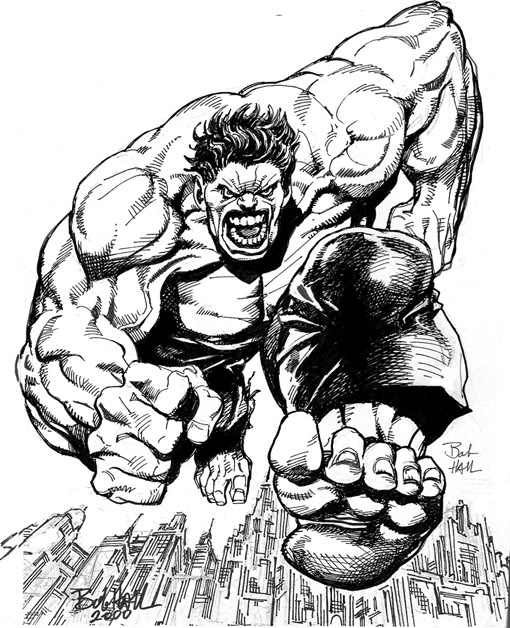 HULK the avengers coloring pages | Minister Coloring