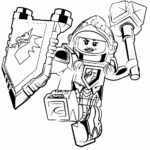 Coloring Pages Lego Nexo Knights