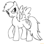 Rainbow Dash Coloring Pages Online