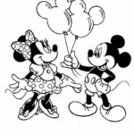 Coloring Pages Minnie Mouse Printable