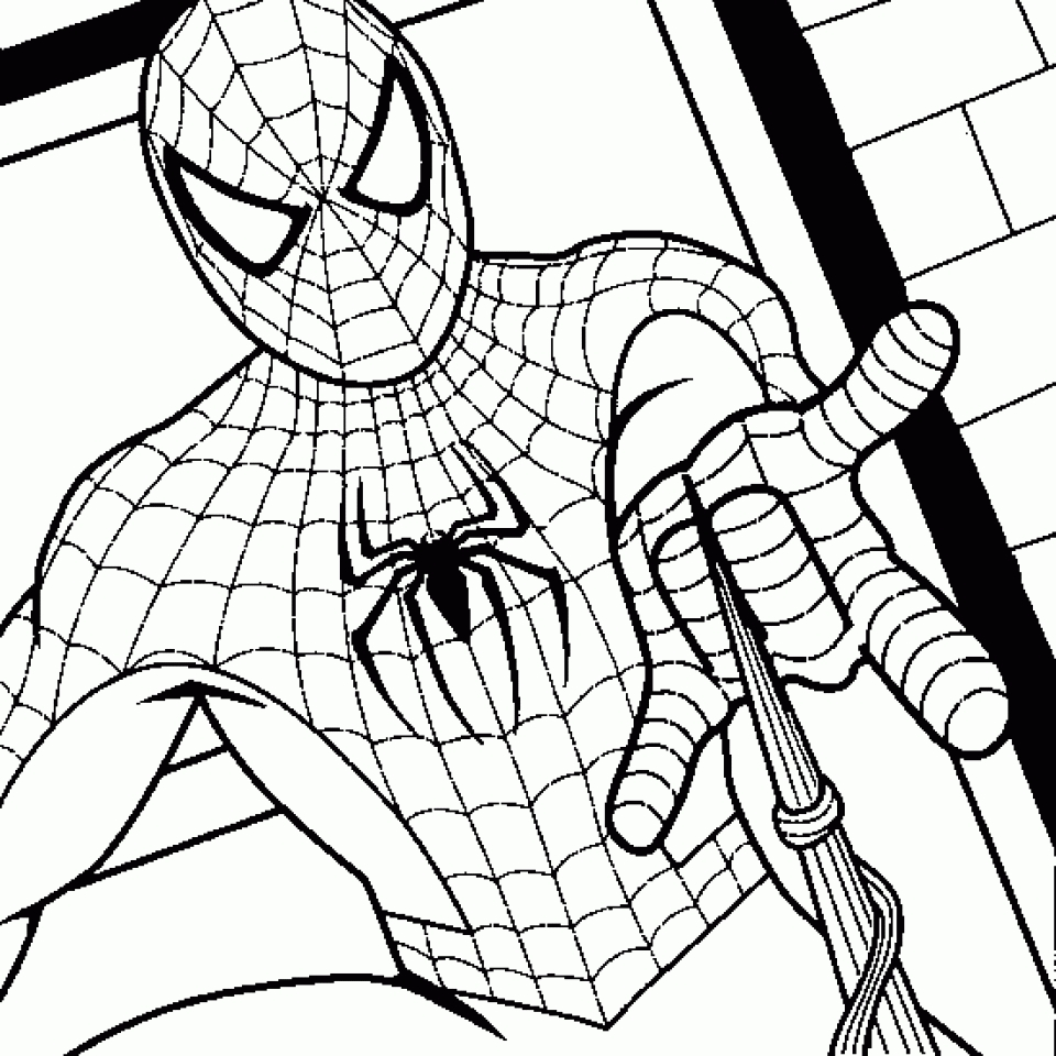 Get This Online Spiderman Coloring Pages 883929