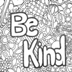 Kindness Coloring Pages Free